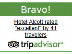 Hotel Alcott Awarded a Bravo Badge by TripAdvisor!