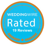 The Hotel Alcott has been awarded a WeddingWire Rated Badge!